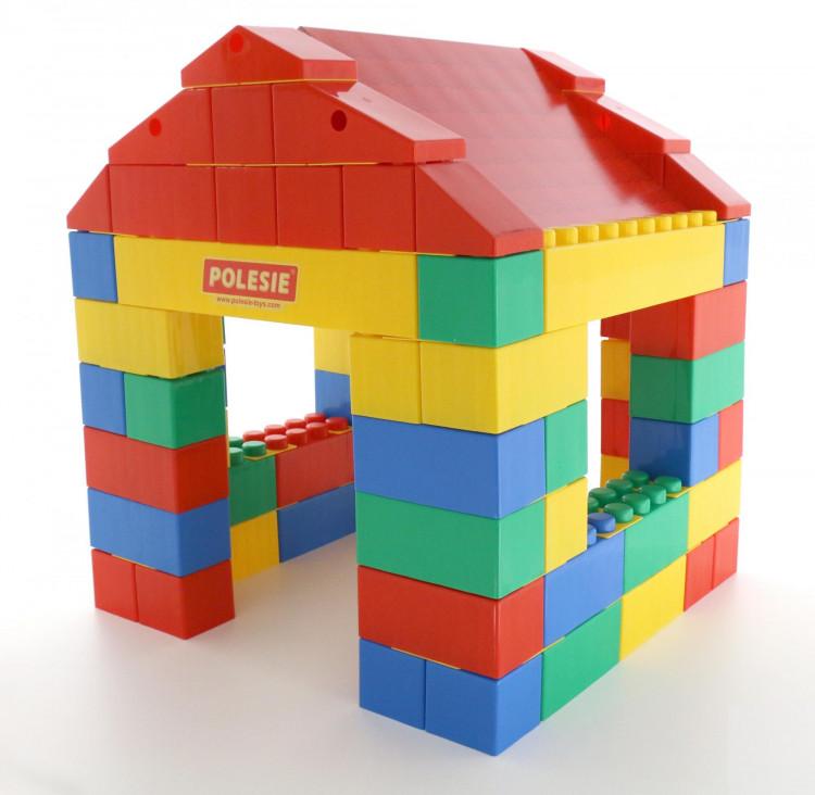 Конструктор полесье строительный дом